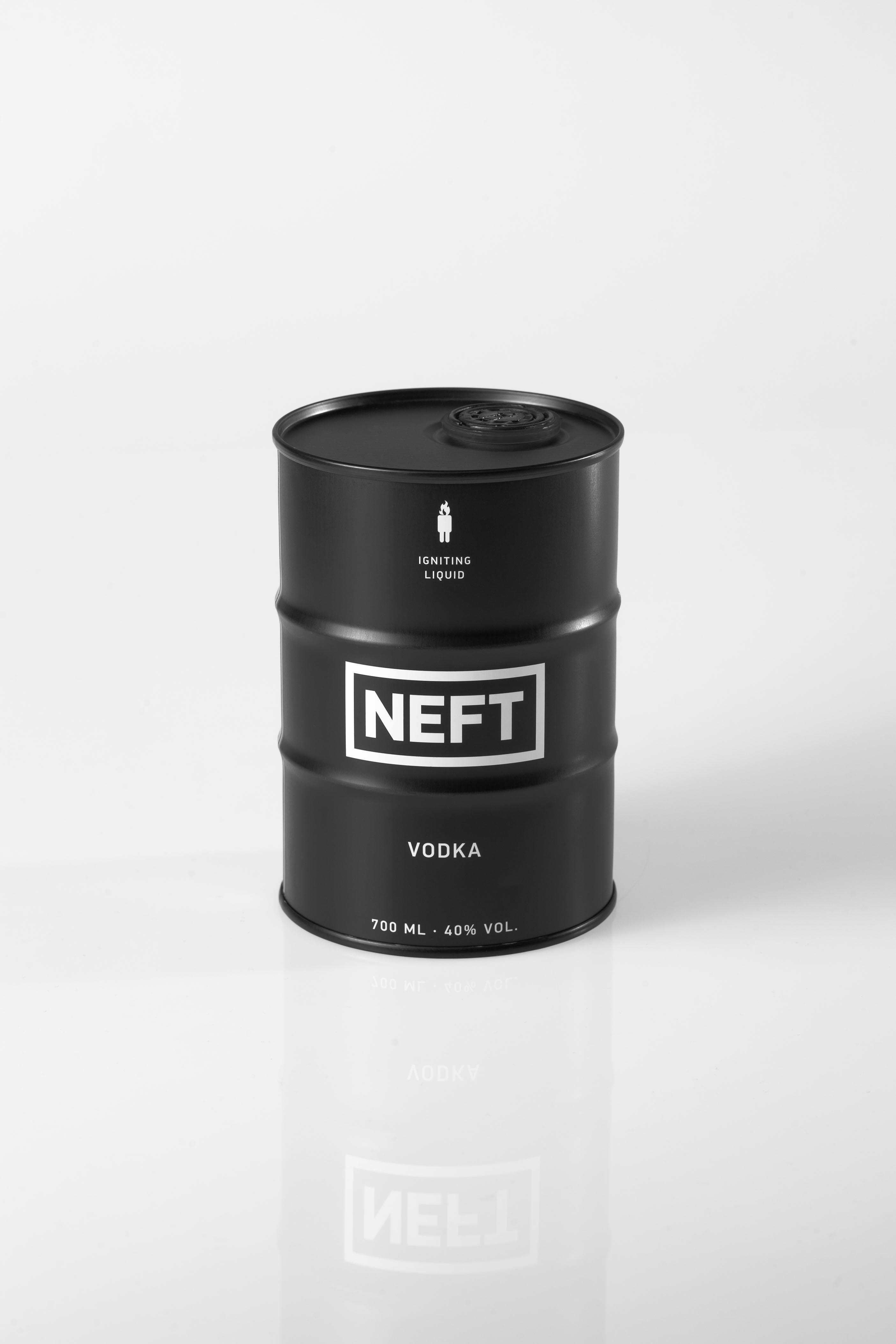 NEFT Vodka – Produktphotographie