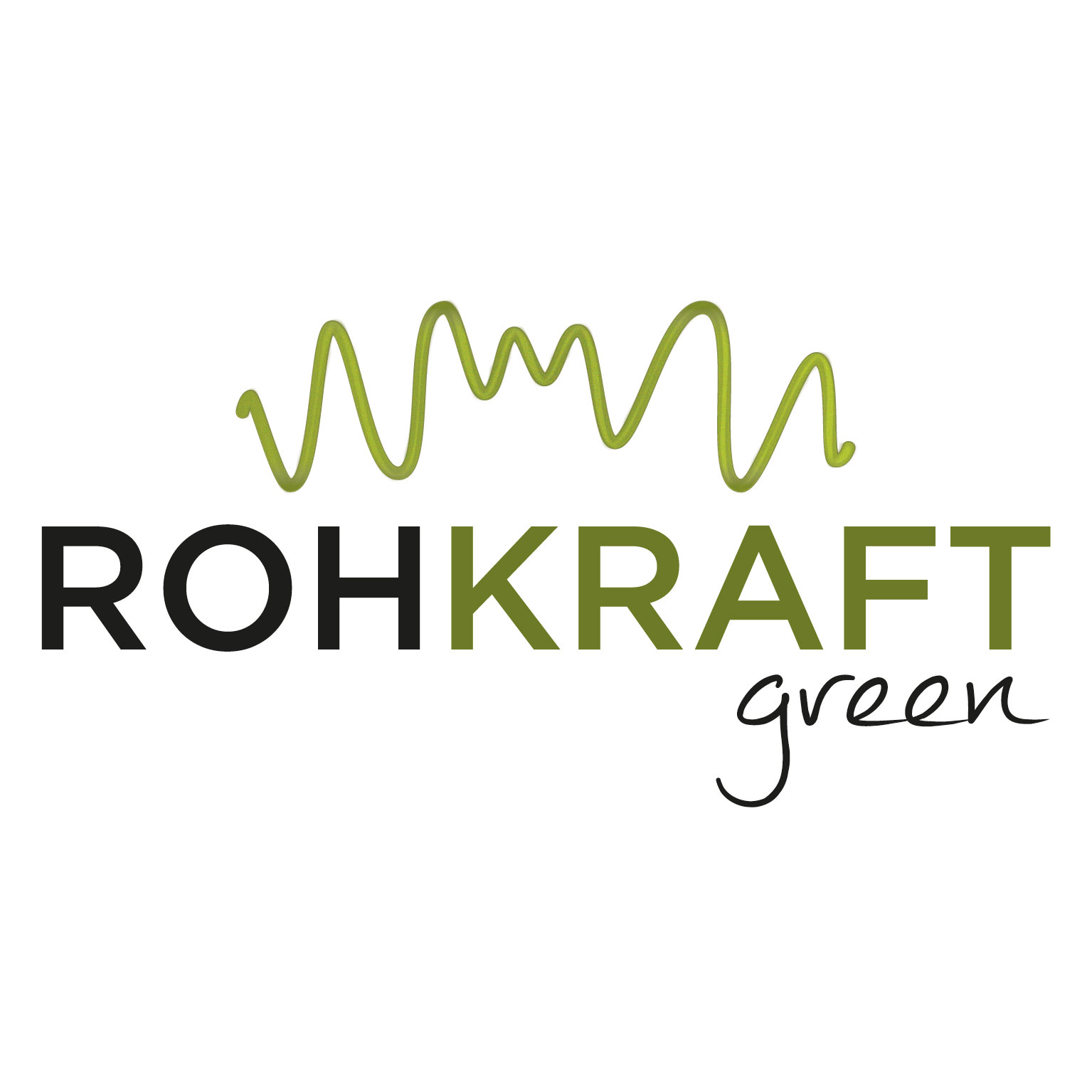 Rohkraft green – Corporate Design