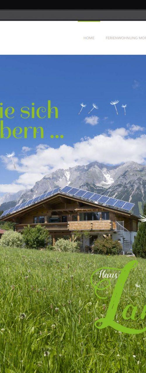 Haus Landzauber – Website