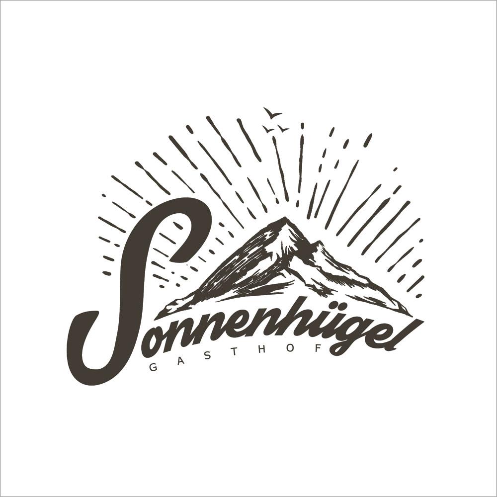 Gasthof Sonnenhügel – Logo Design
