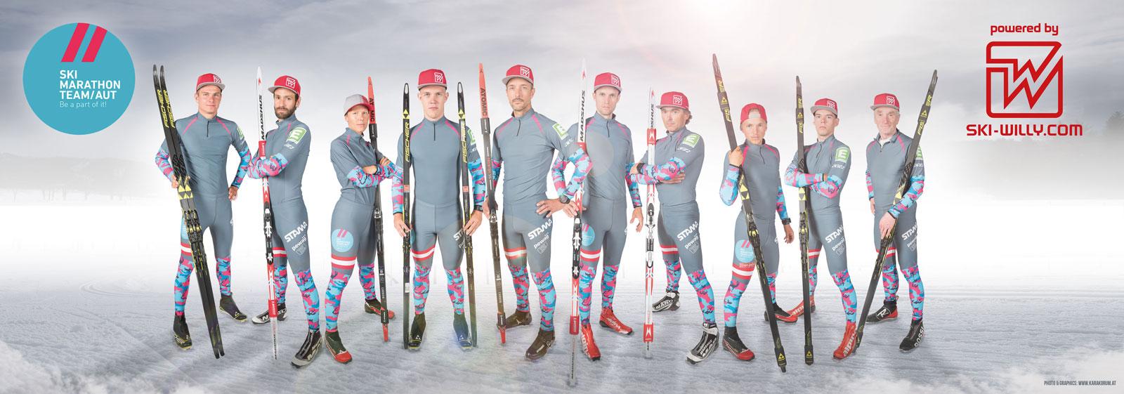 Ski Marathon Team Austria – Image Photographie