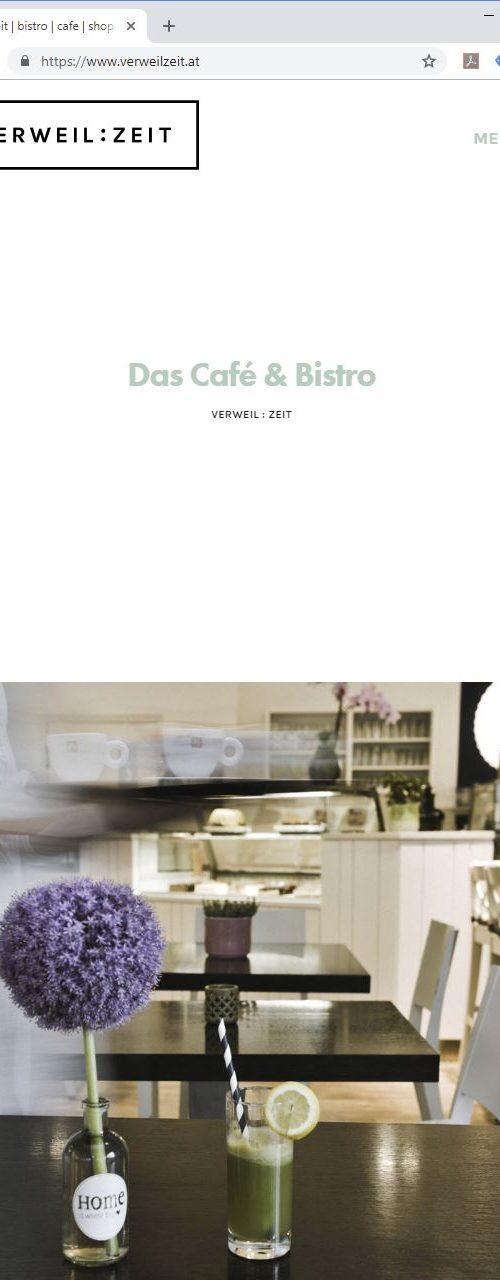VERWEILZEIT – Website
